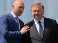 Павел Филип и Андрей Кобяков. Фото: government.by