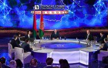 Лукашэнка сустракаецца з кіраўнікамі і супрацоўнікамі найбуйнейшых дзяржаўных СМІ. Фота: president.gov.by